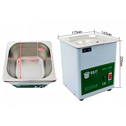 bst-300 ultrasonic cleaner dimension