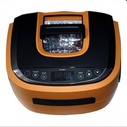 cd-4821 Ultrasonic Cleaner yellow with cover